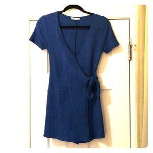 Cobalt Blue Zara Wrap Romper